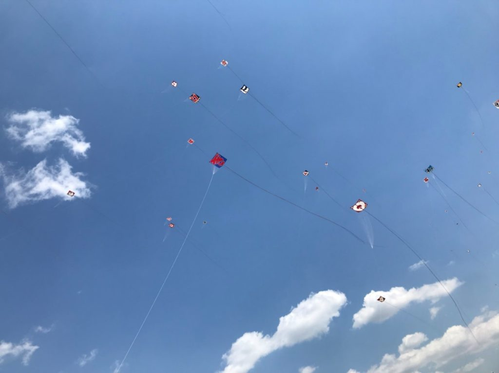 浜松祭り凧揚げその2