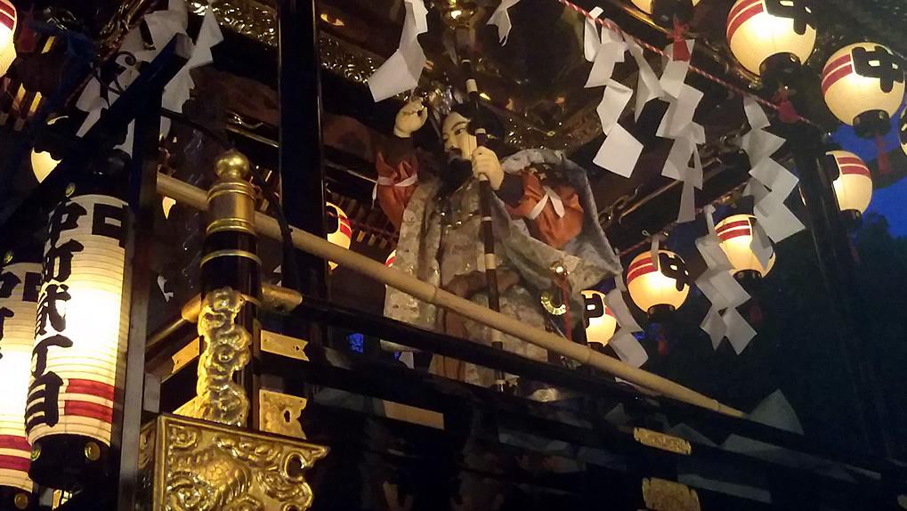 深志神社の天神祭り